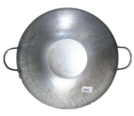 WOK FLAT BOTTOM 15 INCH (37CM)