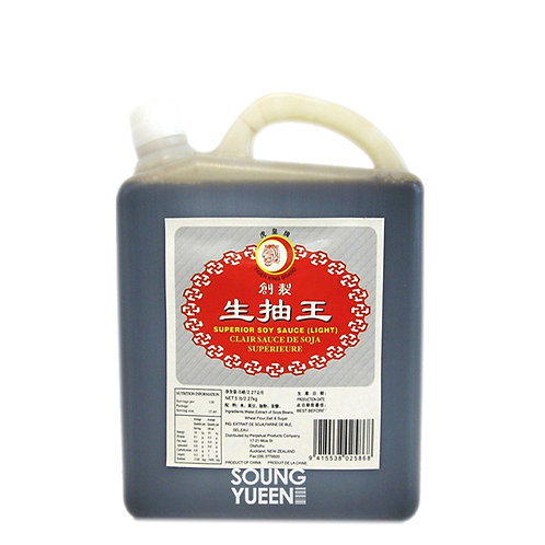 TIGER KING LIGHT SOY SUPERIOR 2.27KG/5LB