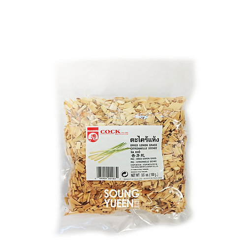 COCK DRIED LEMON GRASS 100G