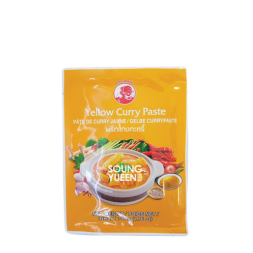 COCK YELLOW CURRY PASTE 50G