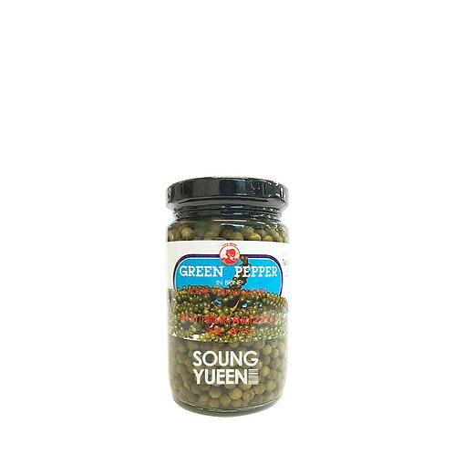 COCK GREEN PEPPER IN BRINE 227G