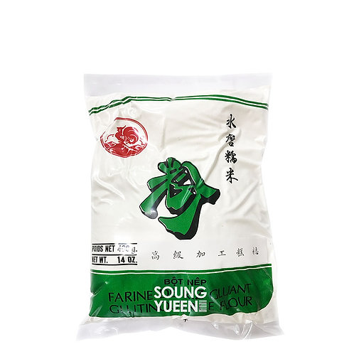 COCK COOKED GLUTINOUS RICE FLOUR 400G