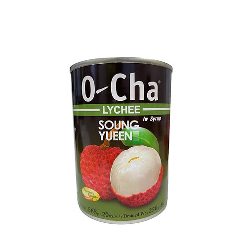 O-CHA LYCHEE IN SYRUP 565G