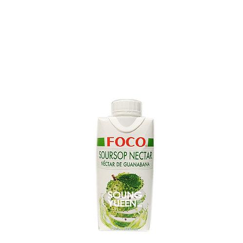 FOCO SOURSOP NECTAR DRINK 330ML