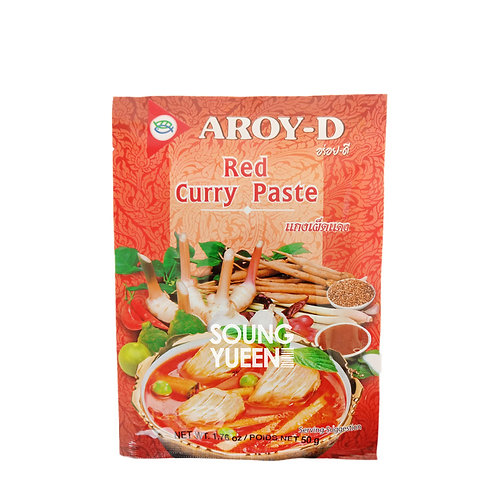 AROY-D RED CURRY PASTE 12X50G