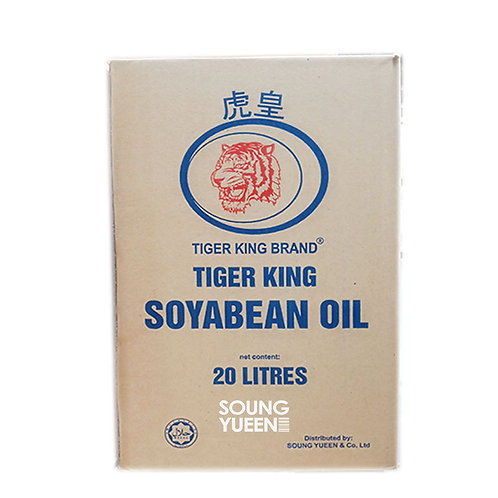 TIGER KING SOY BEAN OIL IN TIN 20L