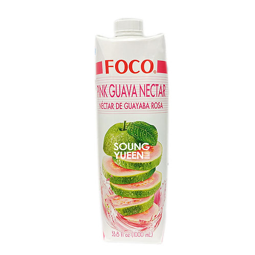 FOCO PINK GUAVA NECTAR DRINK 1L