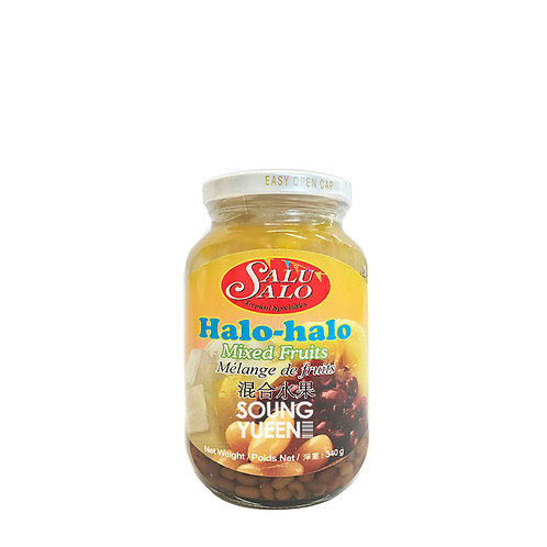 SALU SALO HALO-HALO MIXED FRUITS 340G