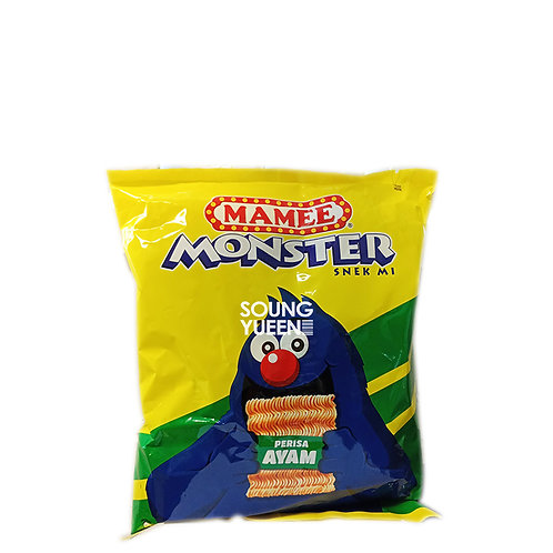 MAMEE MONSTER NOODLE SNACK CHICKEN FLAVOUR 8'S