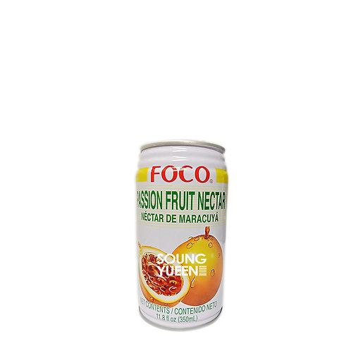 FOCO PASSION FRUIT NECTAR DRINK 350ML