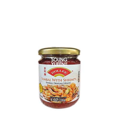 DOLLEE SAMBAL WITH SHRIMPS 220G