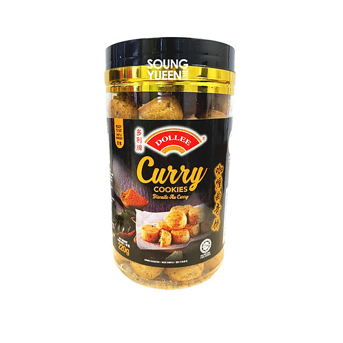 DOLLEE CURRY COOKIES 220G