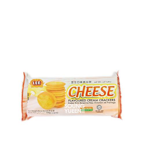 LEE CHEESE CREAM CRACKERS 100G