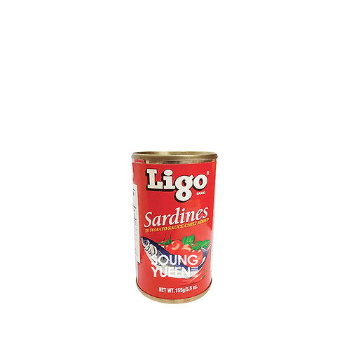 LIGO SARDINES TOMATO SAUCE WITH CHILLI 155G