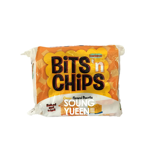 SNACKEROO BITS & CHIPS CHEESE BISCUITS 10/20G