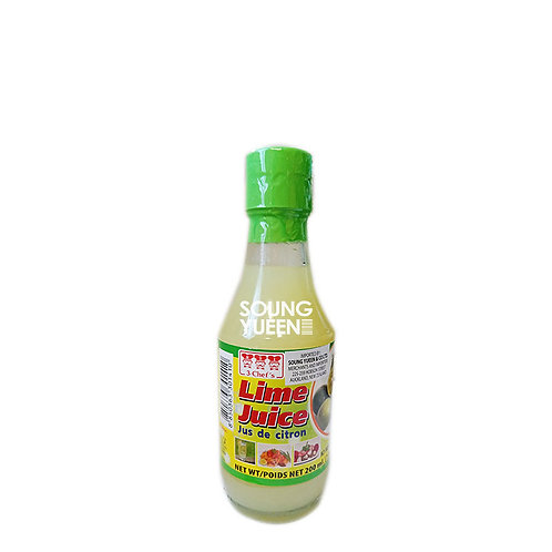 3 CHEF'S LIME JUICE 200ML