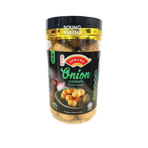 DOLLEE ONION COOKIES 220G