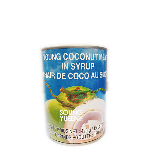COCK YOUNG COCONUT MEAT IN SYRUP 425G