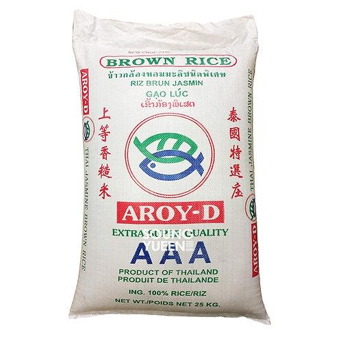 AROY-D BROWN RICE 25KG
