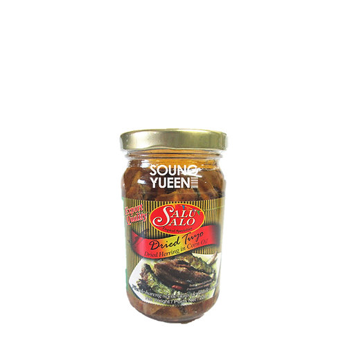 SALU SALO DRIED HERRING IN CORN OIL 220G