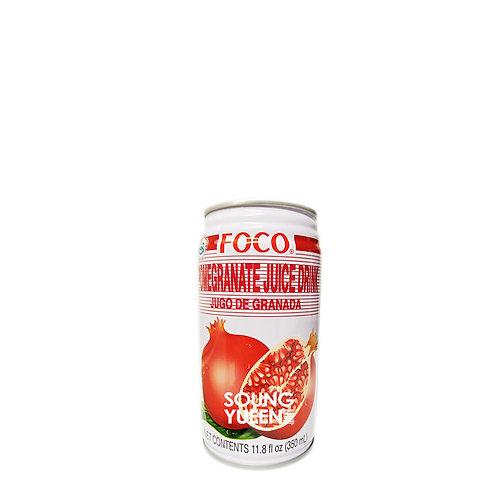 FOCO POMEGRANATE JUICE DRINK 350ML