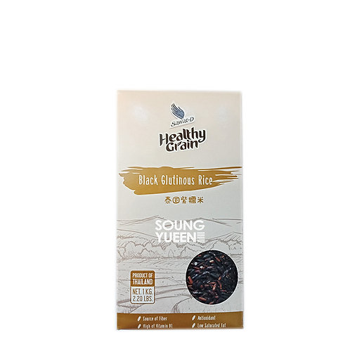 SAWAT-D HEALTHY GRAIN BLACK GLUTINOUS RICE 1KG