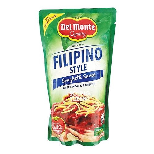 DEL MONTE  FILIPINO STYLE SPAGHETTI SAUCE 1KG