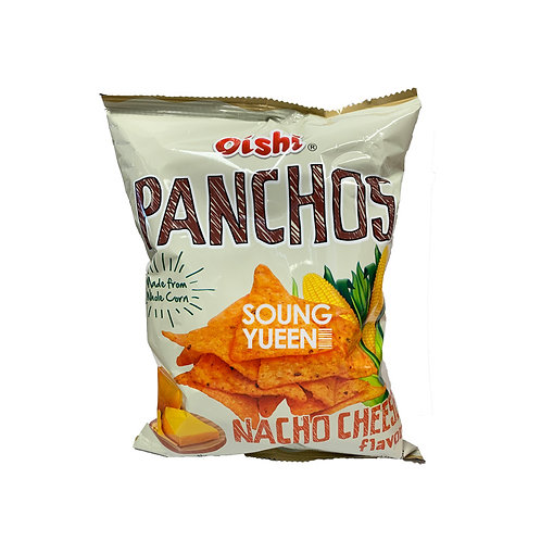 OISHI PANCHOS NACHO CHEESE FLAVORED 85G