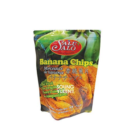 SALU SALO BANANA CHIPS 150G