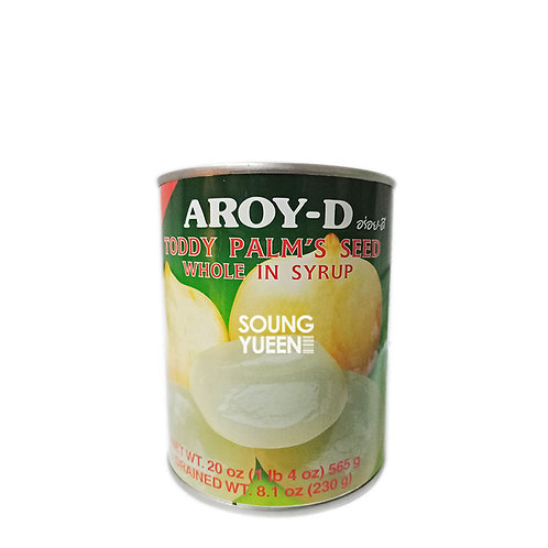 AROY-D TODDY PALM'S SEED WHOLE IN SYRUP 565G