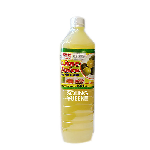 3 CHEF'S LIME JUICE 1L