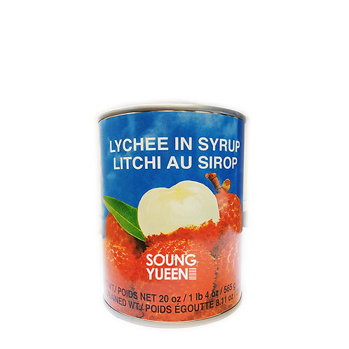 COCK LYCHEE IN SYRUP 565G