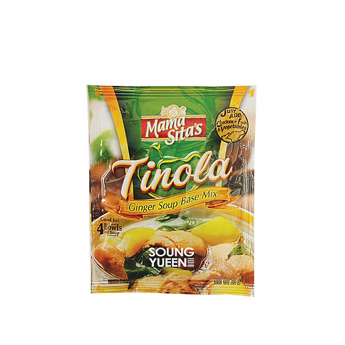 MAMA SITA'S GINGER SOUP BASE MIX TINOLA 25G