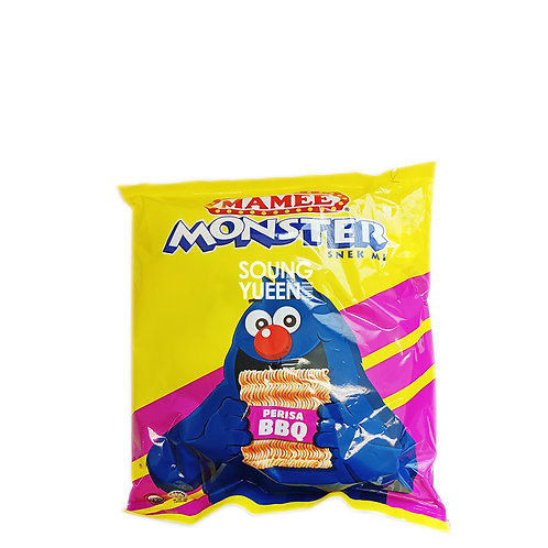 MAMEE MONSTER NOODLE SNACK BBQ FLAVOUR 8'S