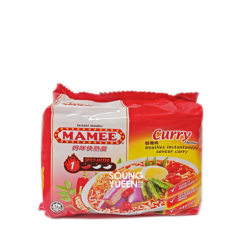 MAMEE CURRY FLAVOUR INSTANT NOODLES 5'S