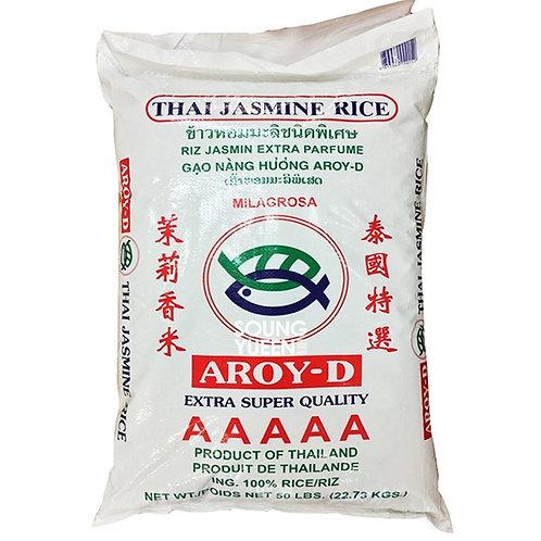 AROY-D THAI JASMINE LONG GRAIN RICE 50lb