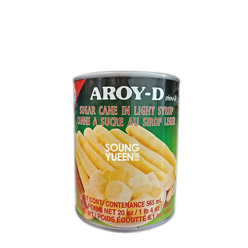 AROY-D SUGAR CANE IN LIGHT SYRUP 565G
