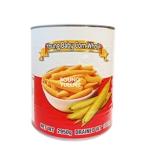 TIGER KING YOUNG BABY CORN WHOLE 2950G