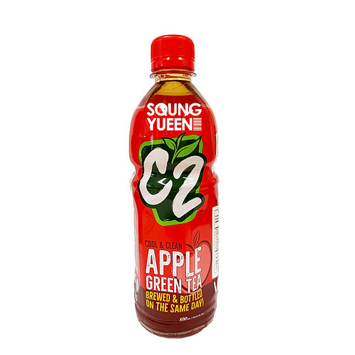 C2 GREEN TEA APPLE 355ML