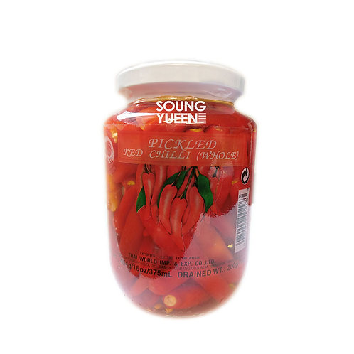 COCK PICKLED RED CHILLI WHOLE 454G