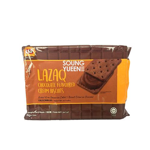 LEE LAZAQ CHOCOLATE CREAM BISCUITS 200G