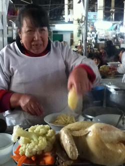 Cusco, Chicken Soup Lady