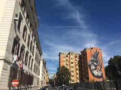 Corner of A. Volta and L. Ghiberti