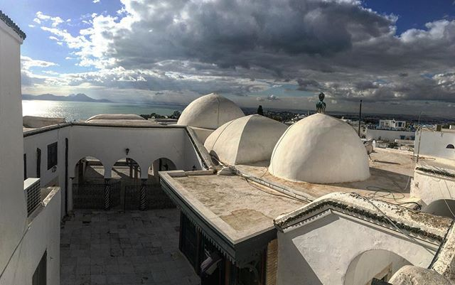 Sidi bou Said, above Carthage