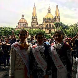 Mariachi ladies, Centro Historico