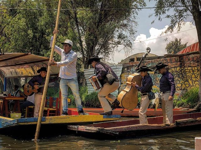 Xochimilco canal system