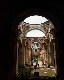 Ruins of cathedral, Antigua
