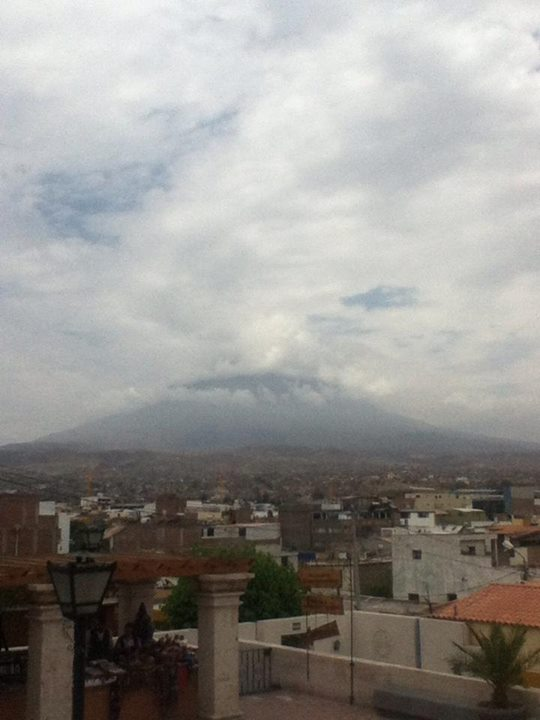 Arequipa and her volcano El Misti