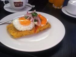 Breakfast courtesy of G. Acurio