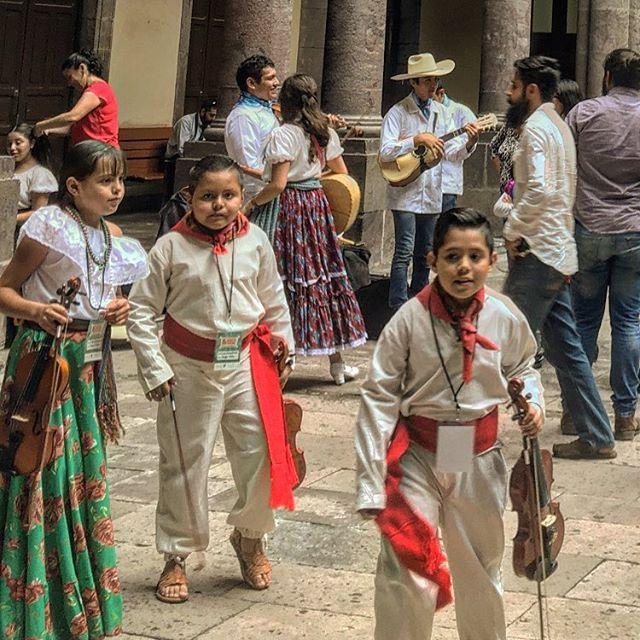 Trad. mariachi, Centro Historico